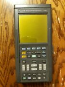 Fluke 99 Scopemeter Series Ii 50 Mhz Oscilloscope With Carry Case And Accessories