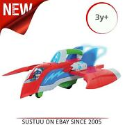 Pj Masks Air Jet Playset│kid's Toy Figures And Vehicle Playsets│toddlers Gift Toy