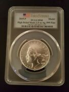 2019 P Silver American Liberty Medal High Relief 2.5oz Pcgs Sp68 First Strike