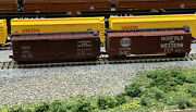 N Scale Nandw Box Freight Car Lot With Mtl Knuckle Couplers. Lot 21