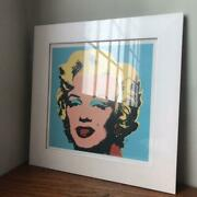 Andy Warhol Marilyn Monroe Poster With Forehead