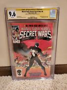 Secret Wars 8 Marvel 1984 Cgc Ss 9.6 White Pages Signed Gold Beatty And Zeck