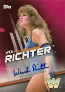 2016 Topps Womenand039s Division Wendy Richter Autograph-s18/25
