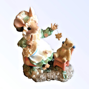 Enesco Mouse Tales Little Miss Muffet There's Nothing To Fear Figurine