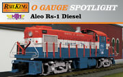 Mth Railking 30-20383-1 Rs-1 In Genesee And Wyoming O Scale With Original Box