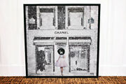 Oliver Gare Painting Picture Queen Of The Store Gal Crates Frame Impression