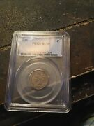 1859 Indian Head Penny Pcgs Au55 Rare Ist Year One Cent Graded
