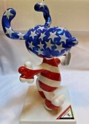 Westland Peanuts On Parade All American Snoopy Figure 13 Red White And Blue 8822