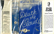 Agatha Christie Death In The Clouds Uk 1st 1935 3/6and039 Original Dust Jacket