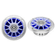 Mrgb65s Boss Audio 6.5 2-way Coaxial Marine Speakers With Multicolor Led Lights