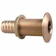 035006adpp Perko 10/8 Thru-hull Fitting For Hose Bronze Made In The Usa