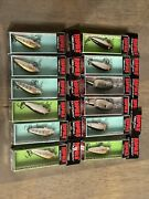 Rapala Fishing Lures Lot Of 12 New In Box. See Picturesfishing Lot.