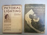 Lot Of 2 Vintage Books William Mortensen Pictorial Lighting Projection Control