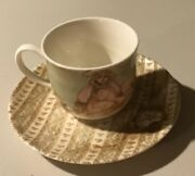 """Flawless Lenox Gallery Of Gifts """"young Lady's Tea Set"""", Teacup And Saucer"""