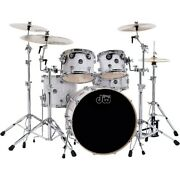 Dw Performance Series 5-piece Shell Pack White Marine Finish With Chrome Hardwre