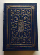 The Poems Of William Shakespeare- Franklin Library- 1993- Like New