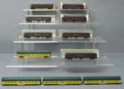 Model Power, Pmi And Other N Scale Assorted Passenger Cars [11] Ex