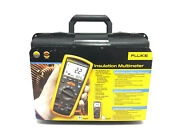 New Fluke 1587 Insulation Multimeter Electrical Tester With Accessories And Case