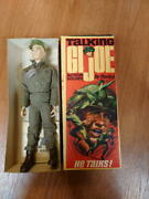 Gijoe Talking Action Soldier With Used Box Free Shipping