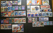 Russia 1975,1978,1979,1981,1982,1983-1987 Mnh Space Only Stamp Collection Cz5