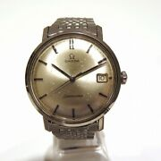 Omega Seamaster Antique Manual Winding Watch Watch Free Shipping [used]