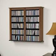 Prepac Double Wall Mounted Storage Cabinet Cherry And Black