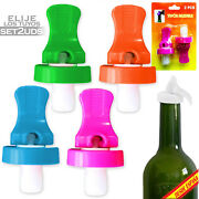 2x Plugs Universal Replacement Airtight For Bottle Reusable Bottle Cap Drink