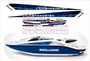 Seadoo Speedster 200 510 Hp 2004-2007 Graphics /decal Replacement Kit Blue