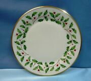 Lenox Dimension Collection Holiday Holly And Berry Plates/bowl Sold Individually