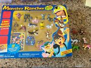 Monster Rancher Playmates 1999 24 Figures Packaging And 18 Cards W/ Rares/super