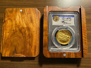 2015-w 100 Gold Liberty High Relief Pcgs Ms70 First Strike Moy And Mercanti Sign