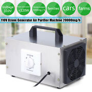 5g Air Purifier Ozone Generator Ionizer Smoke Remove Cleaner Home Office Supply