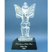 Disney 1997 Disneyana Convention Tinkerbell Crystal Figure Limited To 750 Wate