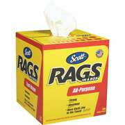 Scotts White Rags In A Box, 200-ct. 75260 Pack Of 8