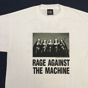 Vintage 1997 Large Rage Against The Machine Nuns With Guns Shirt Giant 90s