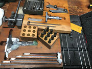 Lot Of Vintage Machinist Tools Starrett And More
