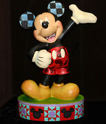 Large Disney Jim Shore The One And Only 24 Tall Mickey Mouse, 4037509, Exc