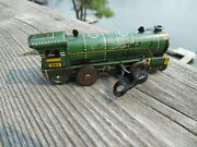 Antique Original 1950's Ranger Steel Products Tin Penny Train 393 Works Great