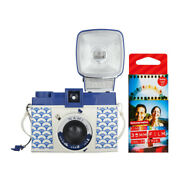 Lomography Diana F+ Camera And Flash Nami Edition With Color Films