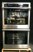 Samsung Nv51k6650ds 30 Electric Double Wall Oven With 5.1 Cu. Ft. Capacity Ss