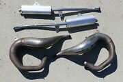Yamaha Banshee Fmf Fatty Gold Exhaust Pipes And Silencers 1987-2006 D-56