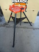Reconditioned Ridgid® 460-6 Portable Tristand Chain Vise Stand 36273 700, 300