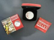 Limited Edition 2013 1oz Silver Proof- Australian Lunar Series Year Of The Snake