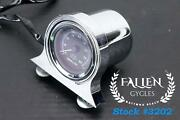 2001 Harley Road King Touring 2 5/8 Mini Tachometer Gauge With Mount Video