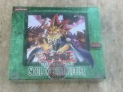 Yugioh Soul Of The Duelist Booster Box 1st Edition English Og Factory Sealed