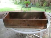Refurbished Antique Desk Into A Display Box For Antique Bowls/rolling Pins