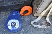 Mckissick Crosby 108225 8 Ton Snatch Block Pulley 5/8-3/4 Wire Rope Swivel Hook
