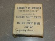 Vintage 16mm Film About Boating Safety Us Coast Guard Free Shipping