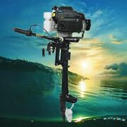 4-stroke 4 Hp Outboard Motor Fishing Boat Engine W/ Air Cooling System Hangkai
