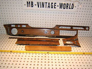 Mercedes Early W 109 300sel Only 4 Doors Dash Zebrano Wood Genuine Mbz 5 Covers
